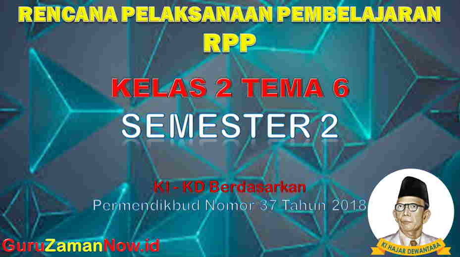 RPP Kelas 2 Semester 2 Tema 6