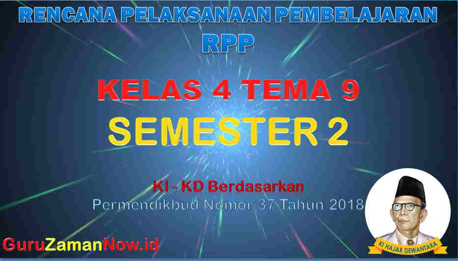 RPP Kelas 4 Semester 2 Tema 9