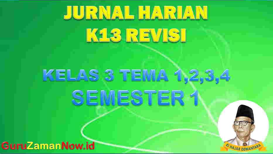 Jurnal Pembelajaran Kelas III Semester 1