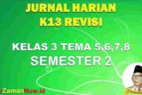 Jurnal Pembelajaran kelas III semester 2