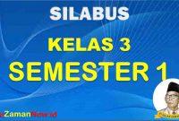 silabus k13 kelas 3 semester 1