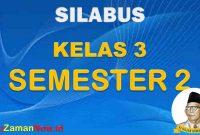 Silabus K13 Kelas 3 semester 2