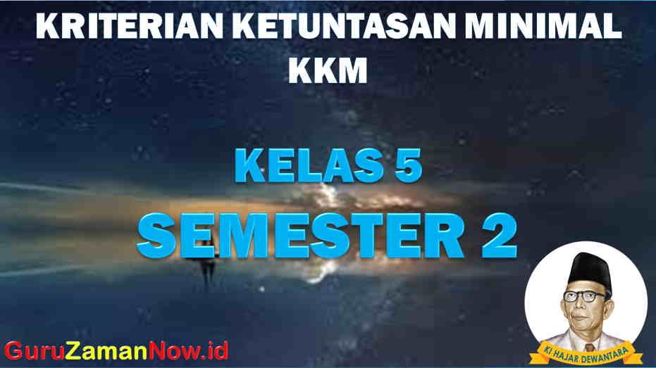KKM K13 Kelas 5 SD/MI