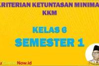 KKM SD Kelas 6