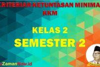KKM SD/MI Kelas 2