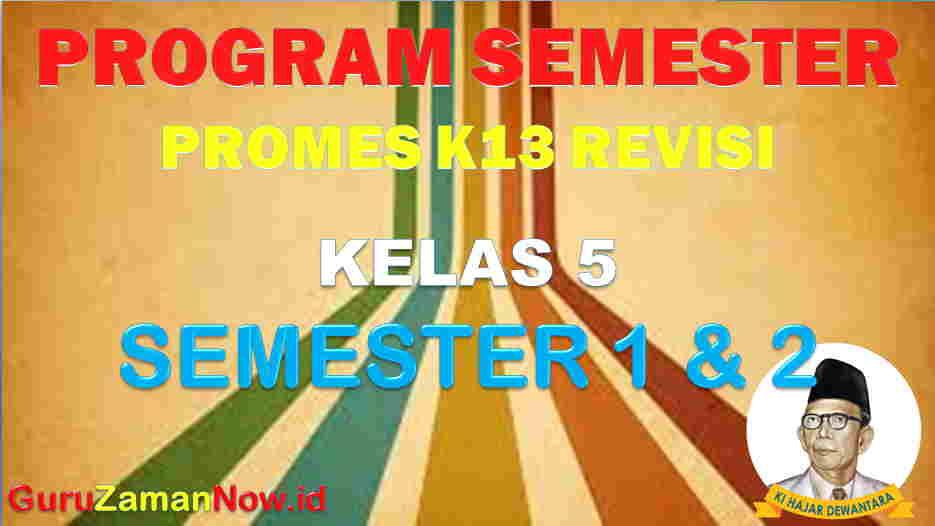 Promes K13 Kelas 5