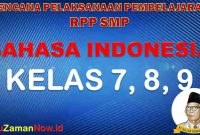 RPP K13 Bahasa Indonesia SMP
