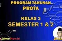 Prota K13 Kelas 3