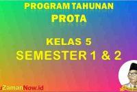 Prota K13 Kelas 5