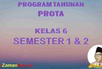 Prota K13 Kelas 6