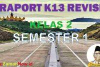 Aplikasi Raport Kelas 2 Semester 1
