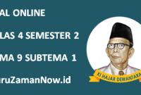 Soal Kelas 4 Tema 9 Subtema 1 Tugas Online