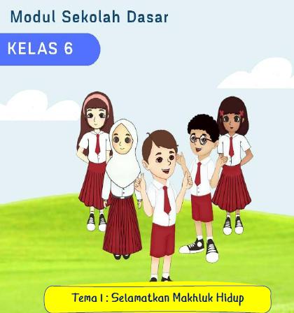 Modul Pembelajaran Daring Aktif Kolaboratif Integratif (AKI) Kelas 6