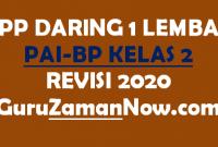 Contoh RPP Daring PAI SD Kelas 2 Semester 1