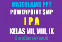 Download Media Ajar PowerPoint (PPT) IPA SMP
