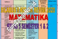 Silabus 9 (Sembilan) Kolom MTK Kelas 5 Revisi 2020