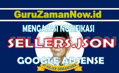 Bagaimana Cara Mengatasi sellers.json di Adsense Youtube dan Website / Blog ?
