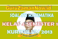 Soal PTS Matematika Kelas 4 Semester Ganjil (1)