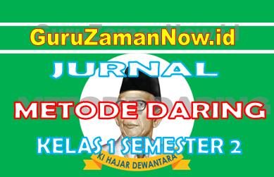 Jurnal Harian Daring Kelas 1 Semester 2 Tahun 2021