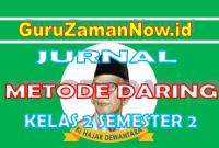 Jurnal Harian Daring Kelas 2 Semester 2 Tahun 2021