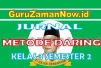 Jurnal Harian Daring Kelas 3 Semester 2 Tahun 2021