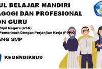 Modul Seleksi PPPK Tahun 2021 Kemendikbud Jenjang SMP