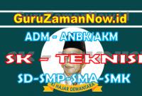 SK Teknisi ANBK / AKM