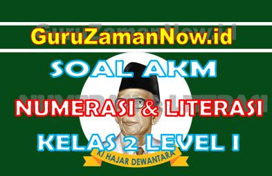 Soal AKM Literasi dan Soal AKM Numerasi Kelas 2