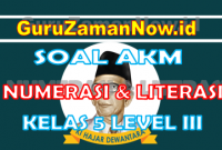 Soal AKM Literasi dan Soal AKM Numerasi Kelas 5