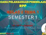 RPP Kelas 4 Semester 1 Tema 1