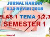 Jurnal Pembelajaran Kelas 1 Semester 1