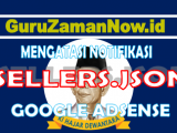 Bagaimana Cara Mengatasi sellers.json di Adsense Youtube dan Website / Blog ?