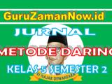 Jurnal Harian Daring Kelas 5 Semester 2 Tahun 2021