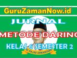 Jurnal Harian Daring Kelas 6 Semester 2 Tahun 2021