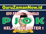 RPP PJOK 1 Lembar Kelas 10Semester 1