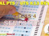 Soal UTS Kelas 4 Semester 1