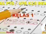 Soal PTS Kelas 1 Semester 1