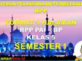 RPP PAI KELAS 5