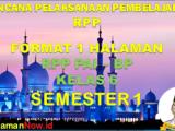 RPP PAI KELAS 6