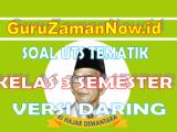 Soal UTS / PTS Daring Kelas 3 Semester 1