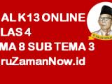 Soal Kelas 4 Tema 8 Subtema 3 Tugas Online