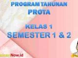 Prota K13 Kelas 1