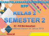 RPP Kelas 2 Semester 2