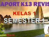 Raport Kelas 1 Semestrer 1