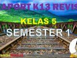 Raport Kelas 5 Semester 1