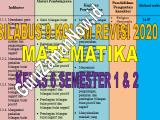 Silabus 9 (Sembilan) Kolom MTK Kelas 6 Revisi 2020
