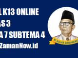 Soal Kelas 3 Tema 7 Subtema 4 Tugas Online