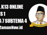 Soal Kelas 1 Tema 7 Subtema 4 Tugas Online