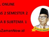 Soal Kelas 2 Tema 8 Subtema 1 Tugas Online