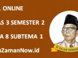 Soal Kelas 3 Tema 8 Subtema 1 Tugas Online